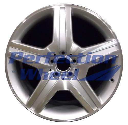 WAO.85117 20x8.5 Bright fine silver Machined