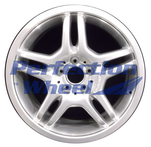 WAO.85141FT 18x7.5 Hyper Bright Mirror Silver Full Face