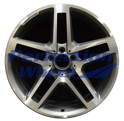 WAO.85155FT 20x8.5 Dark Sparkle Charcoal Machined Bright