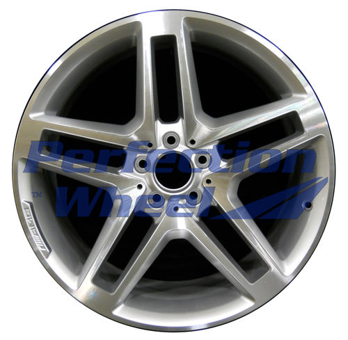 WAO.85155FT 20x8.5 Fine bright silver Machined