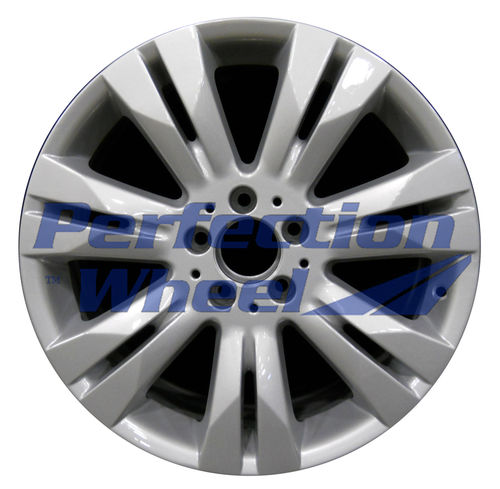 WAO.85171 18x8.5 Bright fine metallic silver Full Face