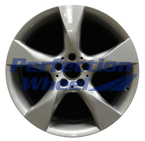 WAO.85216FT 19x8.5 Fine bright silver Full Face