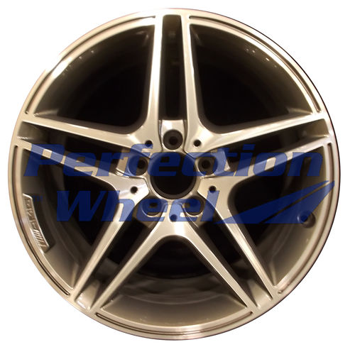 WAO.85222RE 18x9 Bright Metallic Charcoal Machined