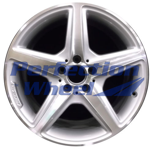 WAO.85231RE 18x9.5 Bright fine metallic silver Machined