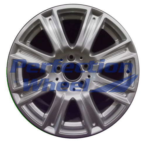 WAO.85239 17x8.5 Hyper Bright Silver Full Face