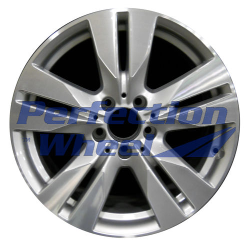 WAO.85240 17x8.5 Fine bright silver Machined