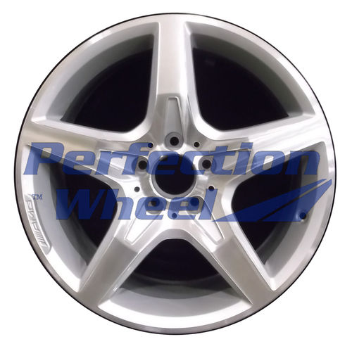 WAO.85248 18x7.5 Bright fine metallic silver Machined