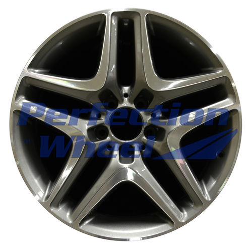 WAO.85254RE 18x8.5 Medium Charcoal Machined Bright