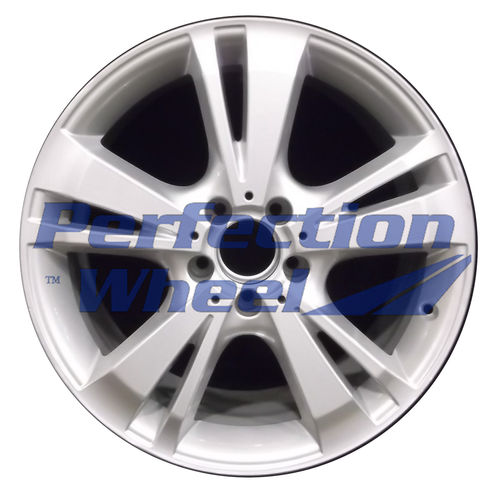 WAO.85258FT 18x8.5 Bright medium silver Full Face