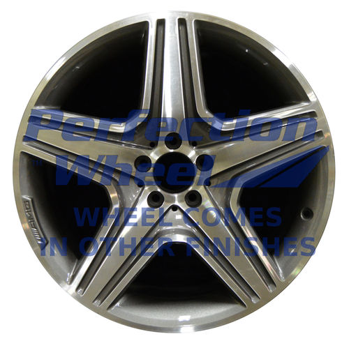 WAO.85263 20x9 Dark Gray Sparkle Machined Bright