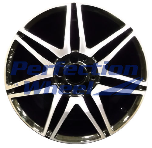 WAO.85270RE 18x8.5 Black Machined Bright POD
