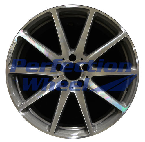 WAO.85279FT 19x9 Dark Gray Sparkle Machined Bright