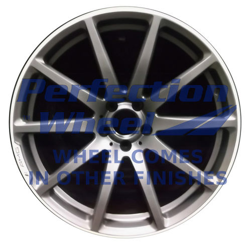 WAO.85280RE 20x10 Dark Gray Sparkle Machined Bright