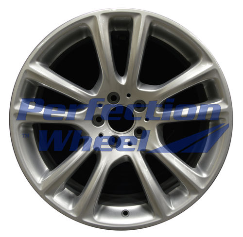 WAO.85285FT 19x8.5 Bright metallic silver Full Face