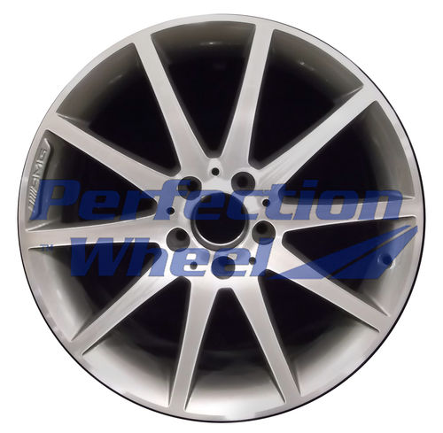 WAO.85289 18x8 Dark Metalic Charcoal Machined