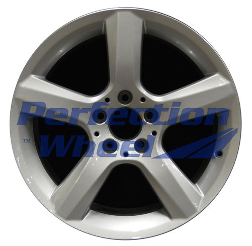 WAO.85294RE 17x8.5 Fine bright silver Full Face