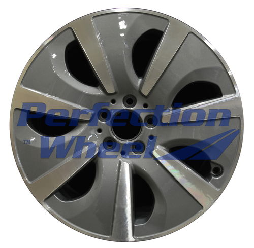 WAO.85312 19x8.5 Medium Metalic Charcoal Machined