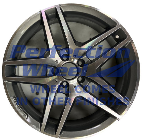 WAO.85348FT 19x8.5 Medium Charcoal Machined Bright Painted OD