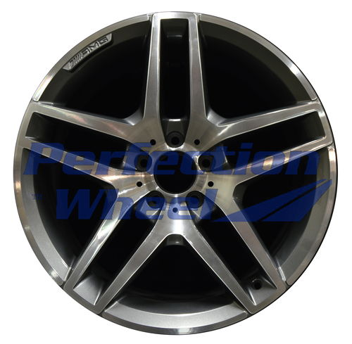 WAO.85350RE 19x9.5 Medium Charcoal Machined Bright POD