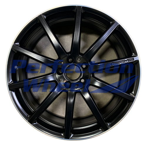 WAO.85358 20x8.5 Black Flange Cut Matte Clear