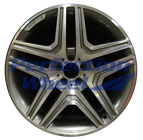 WAO.85365A 21x10 Medium Charcoal Machined Bright