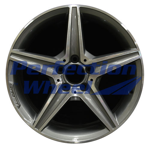 WAO.85372FT 18x7.5 Medium Charcoal Machined Bright