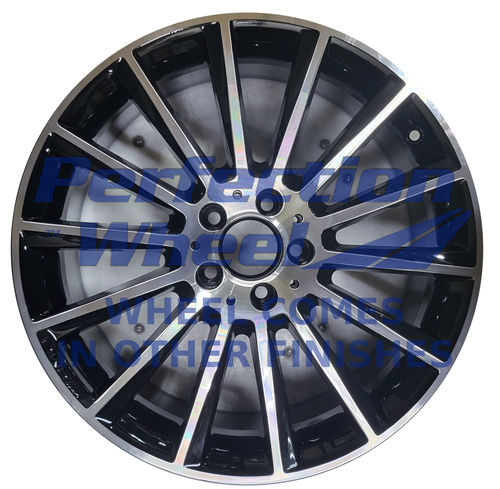 WAO.85374 19x7.5 Gloss Black Machined Bright POD