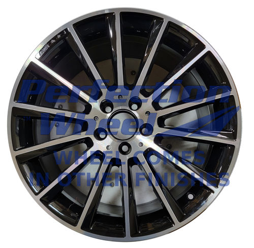 WAO.85375RE 19x8.5 Gloss Black Machined Bright POD
