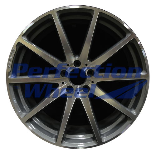 WAO.85381RE 20x10 Medium Charcoal Machined Bright
