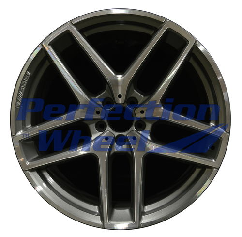 WAO.85491RE 21x11 Medium Charcoal Machined Bright POD