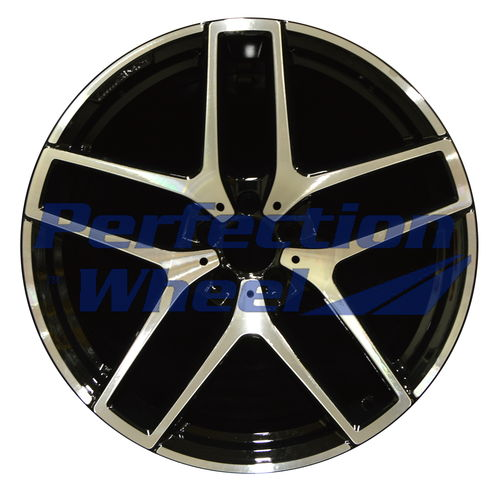 WAO.85491RE 21x11 Black Machined Bright POD