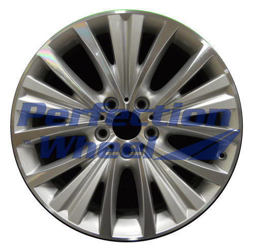 WAO.86047 19x9 Bright medium silver Machined Bright