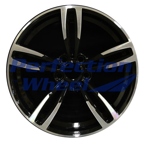 WAO.86094FT 19x9 Black Machined Bright
