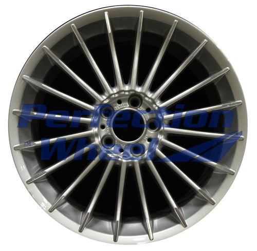 WAO.86097RE 20x9.5 Sparkle Silver Machined