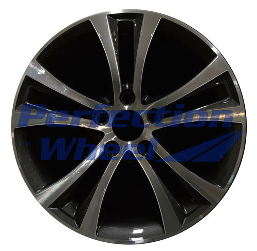 WAO.86132 18x8 Medium Sparkle Charcoal Machined Bright