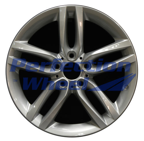 WAO.86133RE 18x8 Hyper Bright Silver Full Face