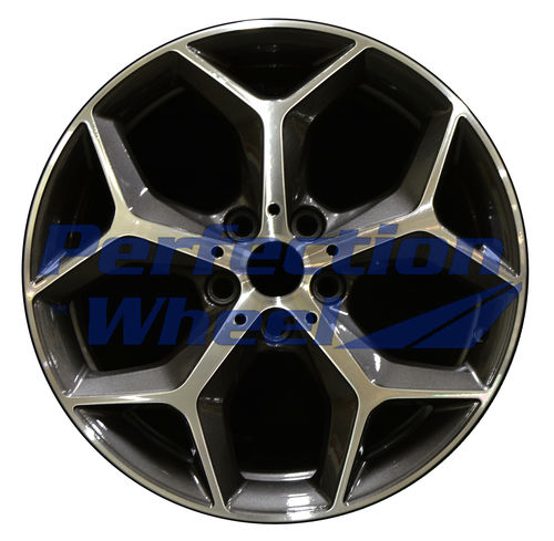WAO.86217 18x7.5 Dark Bluish Charcoal Machined Bright