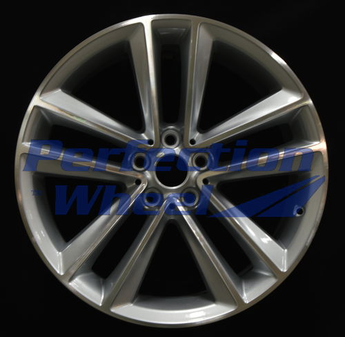 WAO.86310 19x8.5 Gray Sparkle Silver Machined Bright