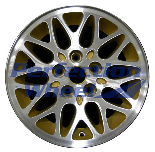 WAO.9011 15x7 Sparkle Gold Machined