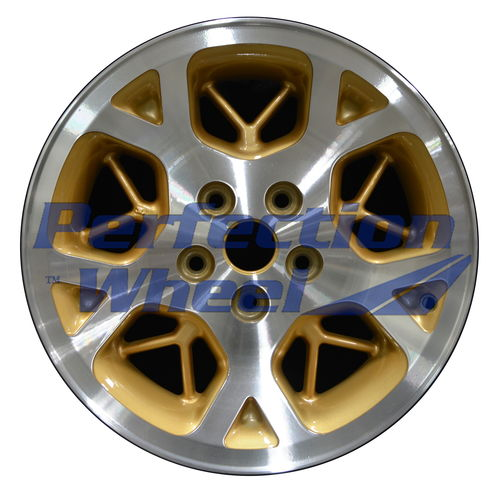 WAO.9015 16x7 Sparkle Gold Machined