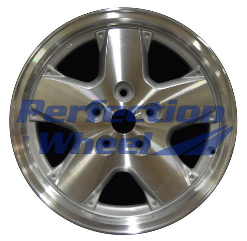 WAO.9038C 16x7 Sparkle Silver Machined