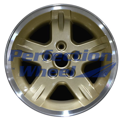WAO.9050 15x8 Sparkle Gold Flange Cut