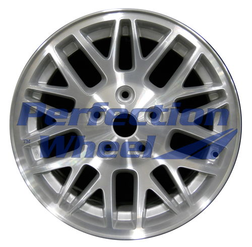 WAO.9052 17x7.5 Sparkle Silver Machined