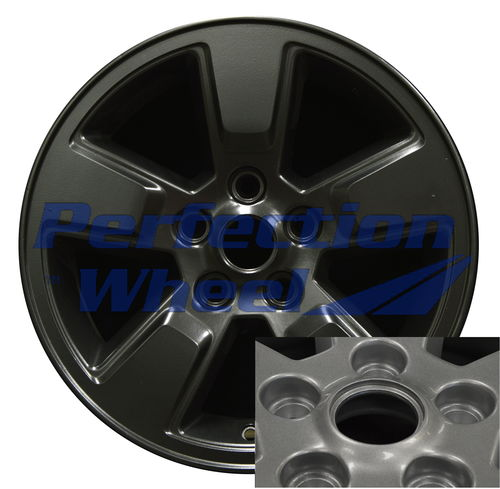 WAO.9084 16x7 Flat Matte Black Full Face