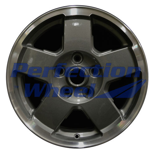 WAO.9096 17x7.5 Dark Sparkle Charcoal Flange Cut
