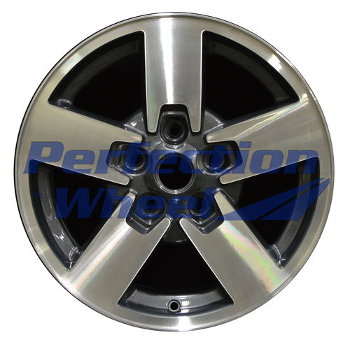 WAO.9097 17x7.5 Blueish metallic charcoal Machined
