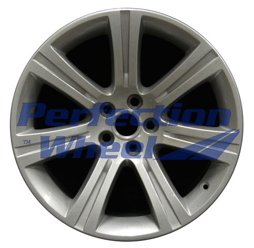 WAO.59820RE 18x9.5 Sparkle Silver Full Face