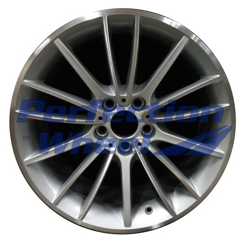 WAO.71587FT 19x8.5 Bright Sparkle Silver Machined