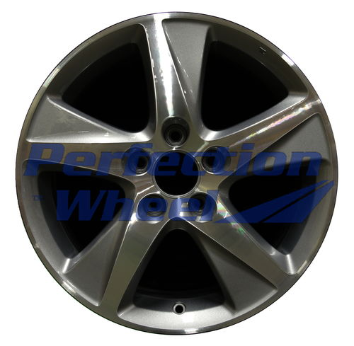 WAO.71781B 17x7.5 Blueish Metallic Silver Machined